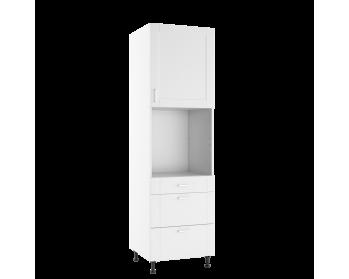 Szafka stojąca 60 CM wysoka z frontem i szufladami.