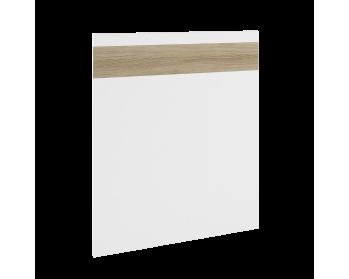 Front z możliwością zastosowania jako panel zewnętrzny do zmywarki. 70,9 cm x 59,6 cm (panel ukryty).
