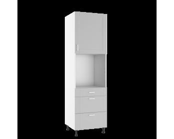 Szafka stojąca 60 CM wysoka z frontem i szufladami. Przystosowana do zabudowy piekarnika standardowego