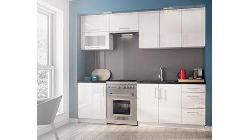 Luna White - białe fronty kuchenne