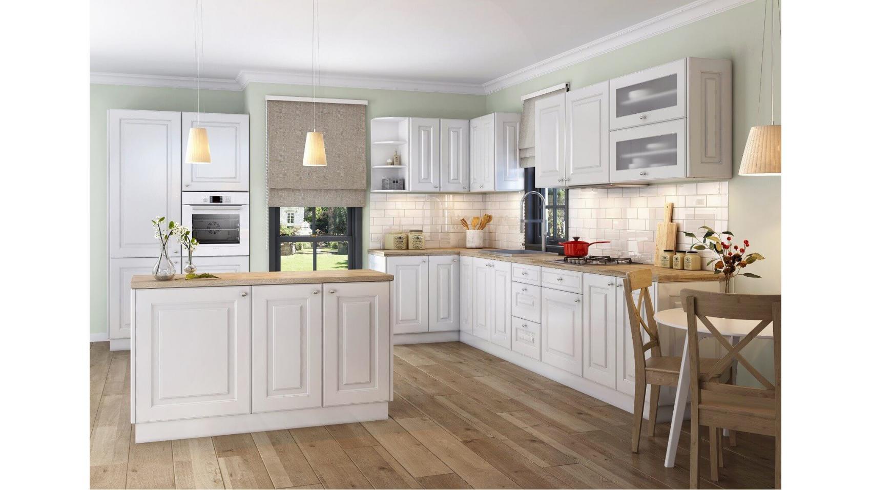 Klasyczne meble kuchenne | Kolekcja Bella Bianco - kuchnie klasyczne