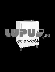 TOPM 60 - LUNA DĄB CRAFT ZŁOTY - SZAFA WYSOKA
